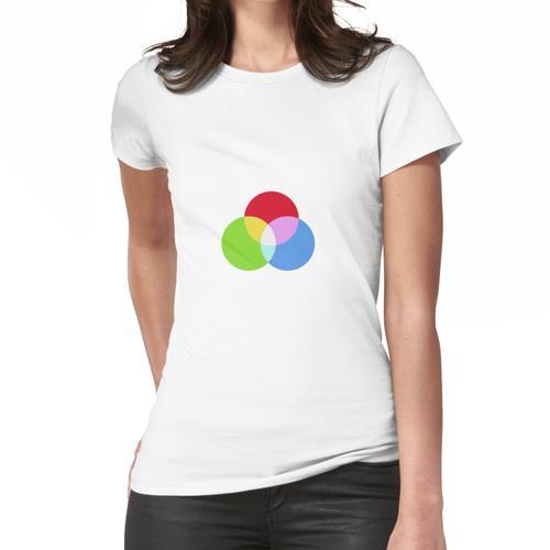 RGB-Farbkombination Frauen T-Shirt