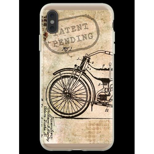 Motorrad Fahrrad Harley Flexible Hülle für iPhone XS Max