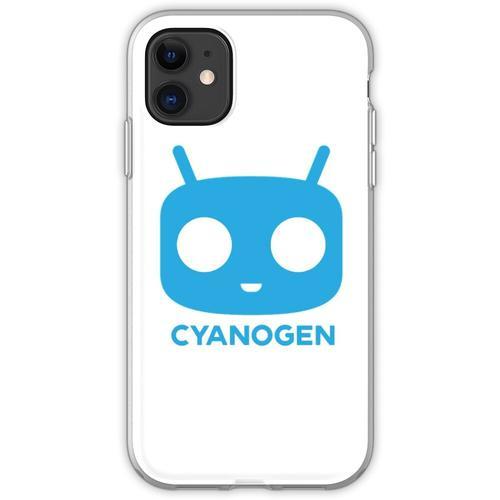 CyanogenMod Head Flexible Hülle für iPhone 11