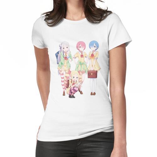 Re: Zero - Schulbeginn in einer anderen Welt Frauen T-Shirt
