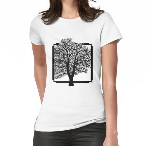 Holzrahmen Frauen T-Shirt