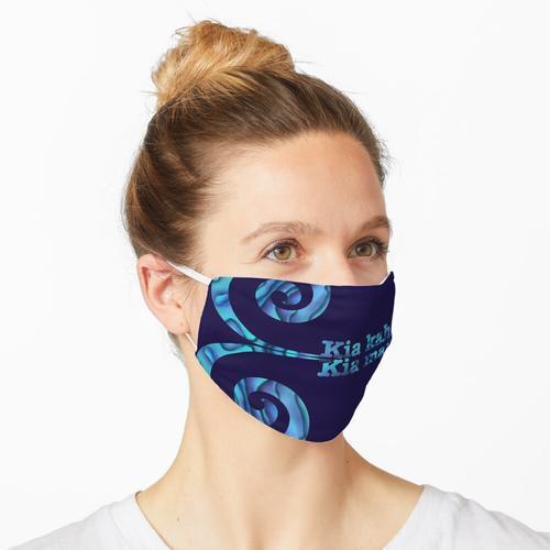 Kia kaha Kia Maia Doppelkoru Maske