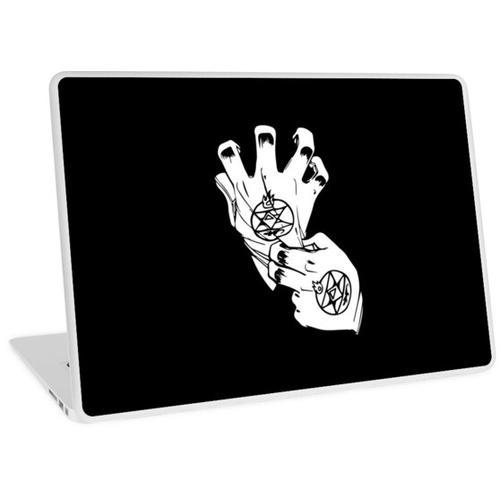 In Brand geraten !! Laptop Skin