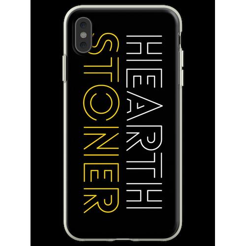 Hearthstone Player oder Hearthstoner Minimal Design Flexible Hülle für iPhone XS Max