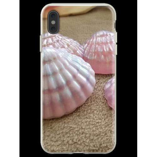 Seife Muschel Jakobsmuschel Seife Foto Flexible Hülle für iPhone XS Max
