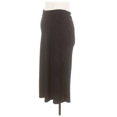 Old Navy - Maternity Casual Skirt: Black Solid Bottoms - Size X-Small