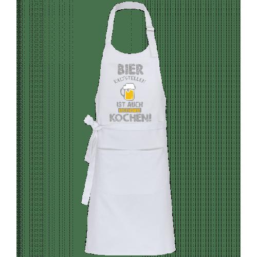 Bier Kaltstellen Ist Wie Kochen - Profi Kochschürze