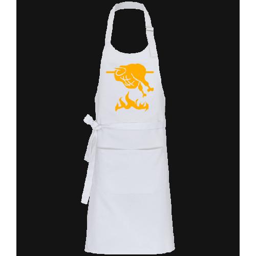 BBQ Chicken Sign - Profi Kochschürze