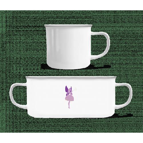 Prinzessinnen Fee - Emaille-Tasse