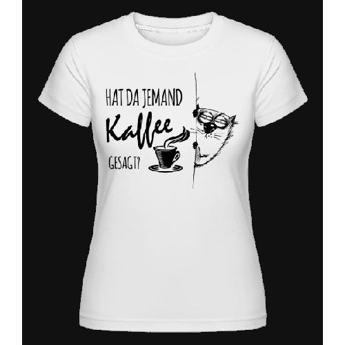 Kaffee Katze - Shirtinator Frauen T-Shirt