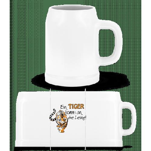 Ein Tiger Kommt An Die Leine - Bierkrug