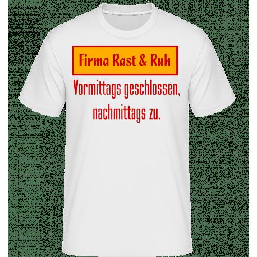 Firma Rast & Ruh - Shirtinator Männer T-Shirt