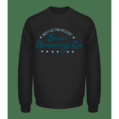 Snowboarding Co. Sign - Unisex Pullover