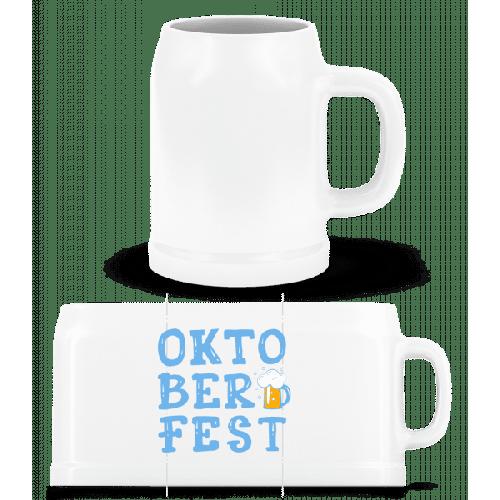 Oktoberfest - Bierkrug
