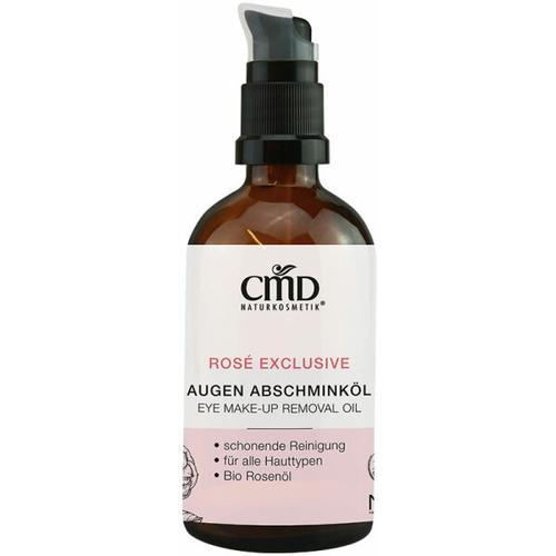 CMD Naturkosmetik Rosé Exclusive Augen-Abschminköl 100 ml Augenmake-up Entferner