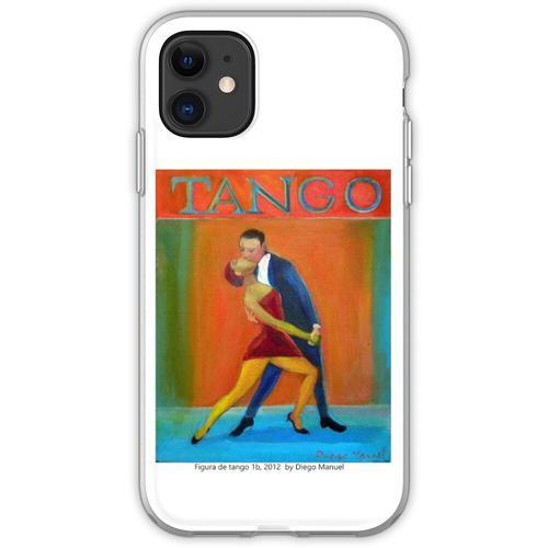 Figur des Tango 1b, 2012 von Diego Manuel Flexible Hülle für iPhone 11