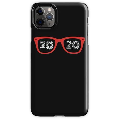 Brillen Brille 20/20 Optiker Augenarzt Hipster Optiker iPhone 11 Pro Max Handyhülle