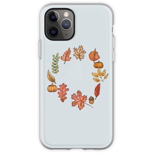 Herbstkranz Flexible Hülle für iPhone 11 Pro