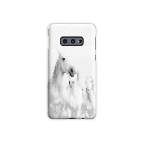 Eine Herde weißer Pferde Samsung Galaxy S10e Case