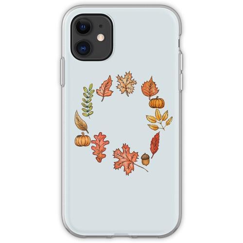 Herbstkranz Flexible Hülle für iPhone 11