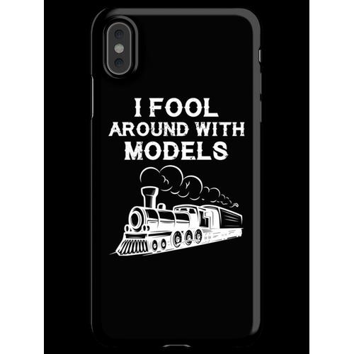 Züge Eisenbahn Lokomotive Eisenbahner Geschenk iPhone XS Max Handyhülle