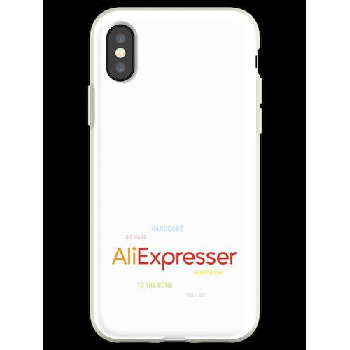 AliExpress-Fan Flexible Hülle für iPhone XS