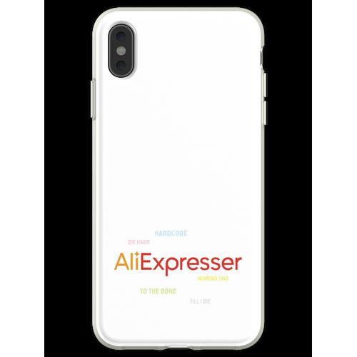 AliExpress-Fan Flexible Hülle für iPhone XS Max