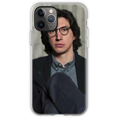 Adam Driver trägt eine Brille Flexible Hülle für iPhone 11 Pro