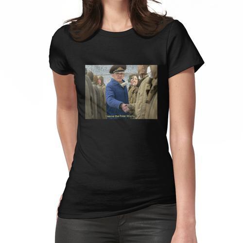 Jerome Powell im Dienste des freien Marktes Frauen T-Shirt