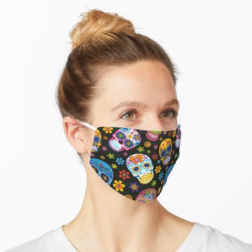 Tag der toten Zuckerschädel Maske