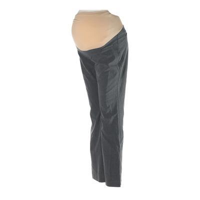 Motherhood Dress Pants - Low Rise: Gray Bottoms - Size Small Maternity