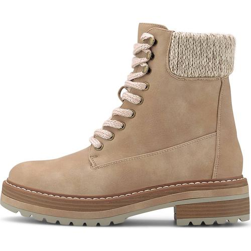 COX, Winter-Boots in beige, Boots für Damen Gr. 42