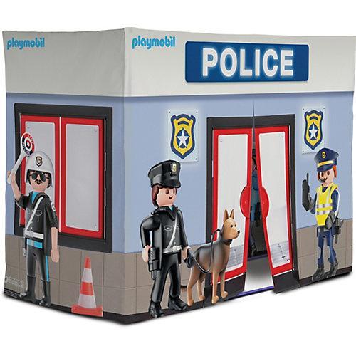 Playmobil Polizeistation-Spielzelt blau-kombi