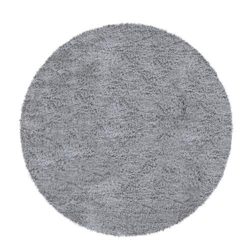 Paco Home Hochflor-Teppich, Kuschelig Weich, Moderner Einfarbiger Flokati-Teppich In Grau