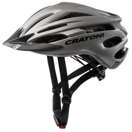 Cratoni Mountainbikehelm MTB-Fahrradhelm Pacer grau Rad-Ausrüstung Radsport Sportarten