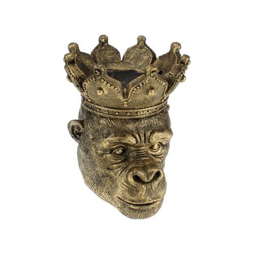 VOSS Design »Kong« Affen Pflanzkopf gold