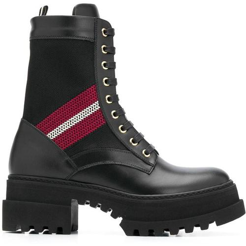 Bally Stiefel im Military-Look