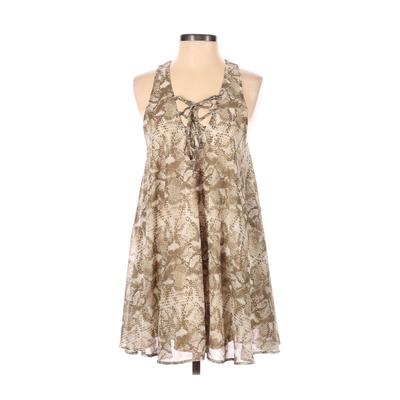 Show Me Your Mumu Casual Dress - A-Line: Tan Dresses - Used - Size Small
