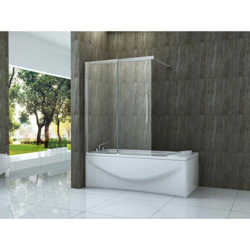 Schiebetür-Duschtrennwand TRAMO 120 x 150 (Badewanne)