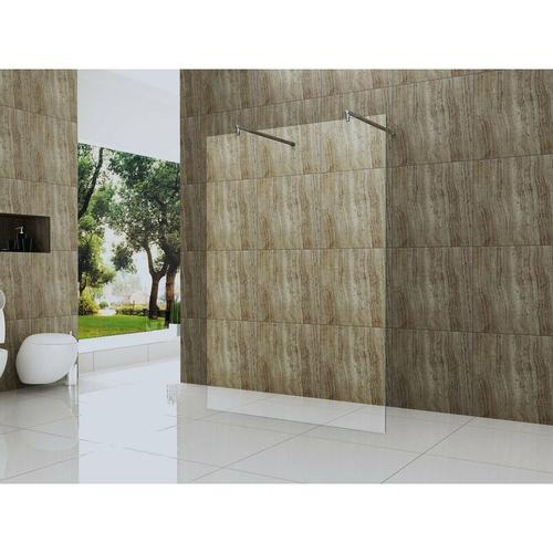 freistehende 10 mm Duschtrennwand VACANTE-SOLO 120 x 200 cm
