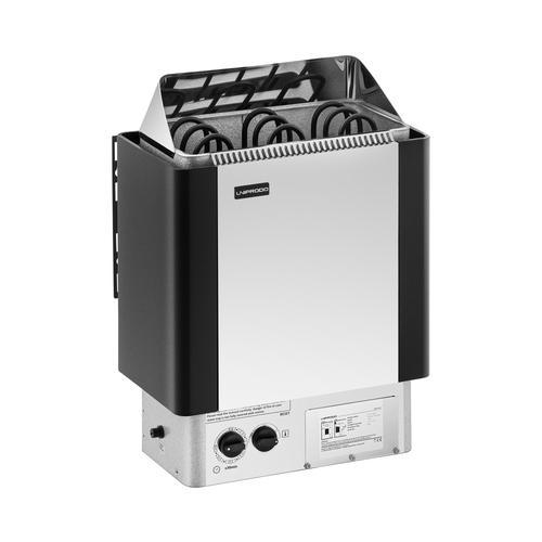 Uniprodo Saunaofen - 4,5 kW - 30 bis 110 °C UNI_SAUNA_S4.5KW