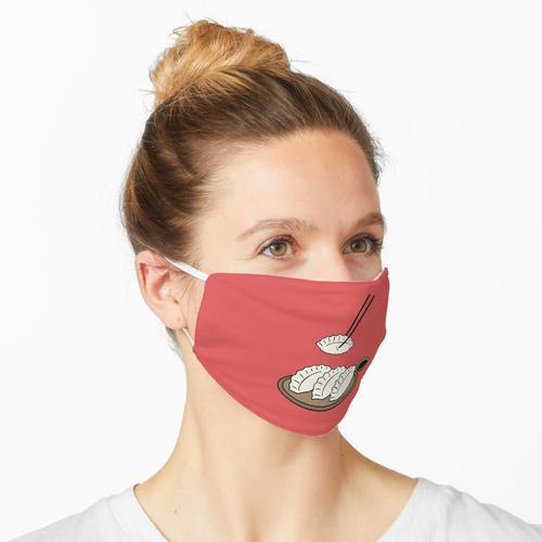 Gyoza-Platte Maske