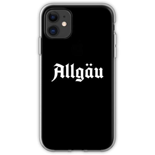 Allgäu Schriftzug - Allgäu Design - Allgäu für Allgäuer Flexible Hülle für iPhone 11