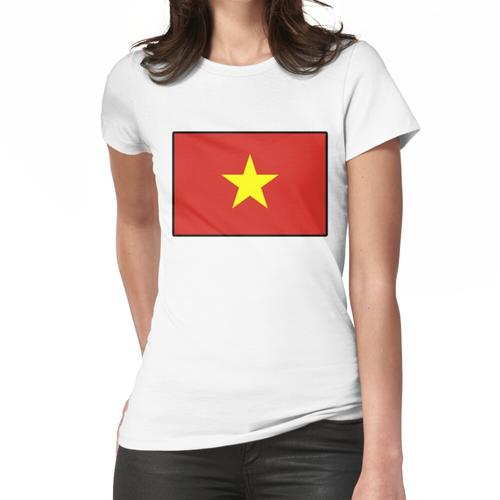 Vietnam Flagge! Vietnamesischer Vietnam Asiat Frauen T-Shirt