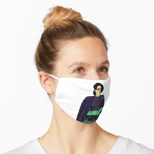 Ratched-Sarah Paulson Aufkleber Maske