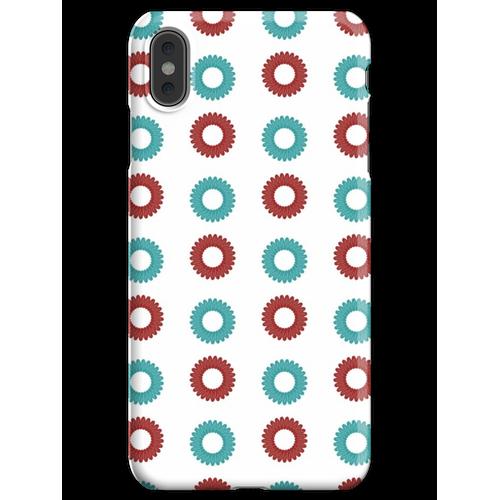 Telefon-Kabel-Schnur-Spirale-Haargummi iPhone XS Max Handyhülle