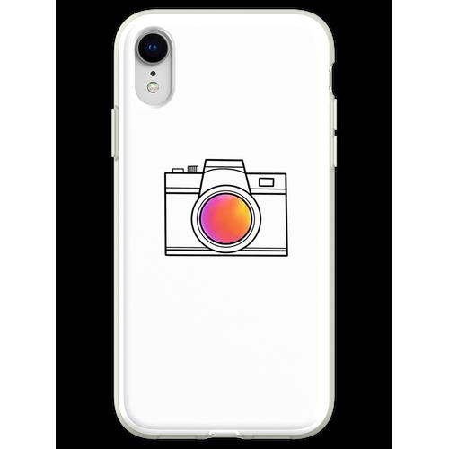 eine einfache Kamera Flexible Hülle für iPhone XR