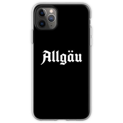 Allgäu Schriftzug - Allgäu Design - Allgäu für Allgäuer Flexible Hülle für iPhone 11 Pro Max