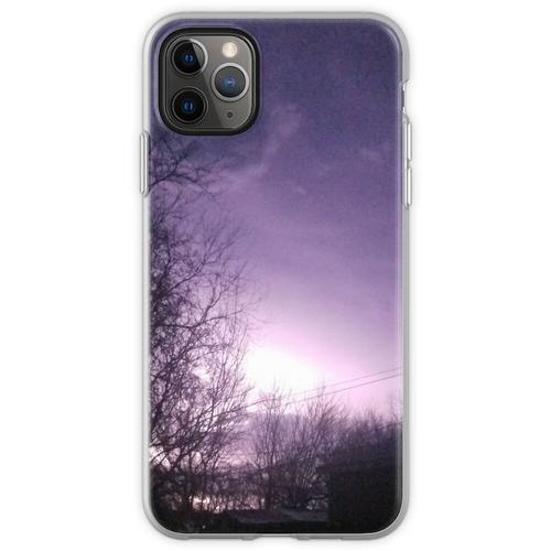Blitzeinschläge Flexible Hülle für iPhone 11 Pro Max