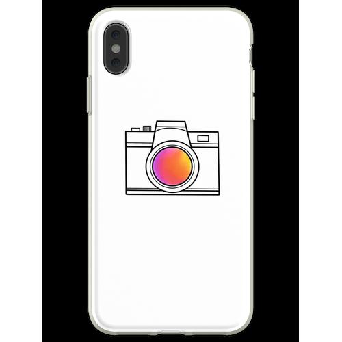 eine einfache Kamera Flexible Hülle für iPhone XS Max